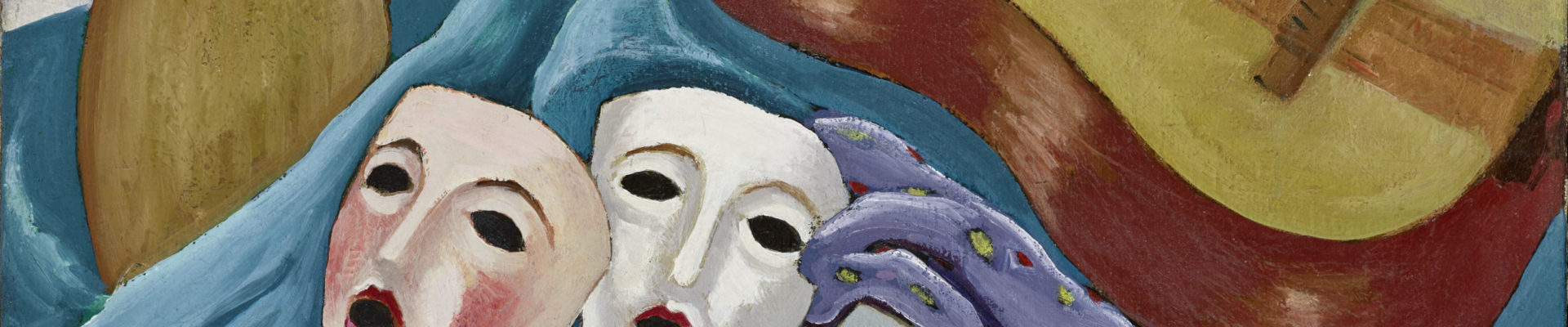 Frandsen Naturte morte aux Masques 1925